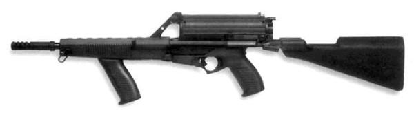 Пистолет-пулемет Calico