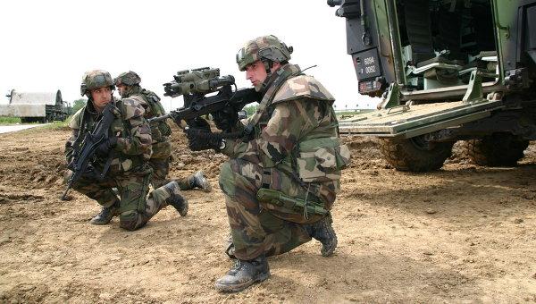 """французский боевой комплект солдата будущего """"FELIN"""""""