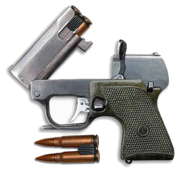 """Бесшумный малогабаритный специальный пистолет МСП """"Гроза"""""""