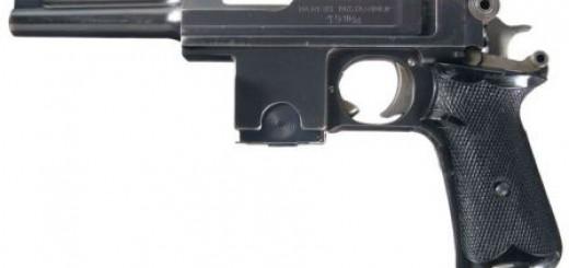 Cамозарядный пистолет Bergmann Bayard