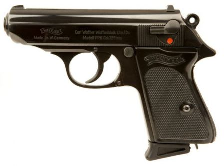 Пистолеты Walther PP, PPK и PPK/S