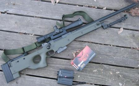 Снайперская винтовка Accuracy International L96 A1 / Arctic Warfare (AWP)