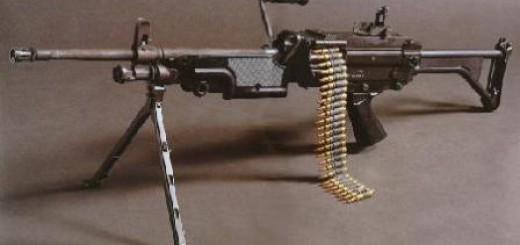 Пулемет FN Minimi (Бельгия) / M249 (США)