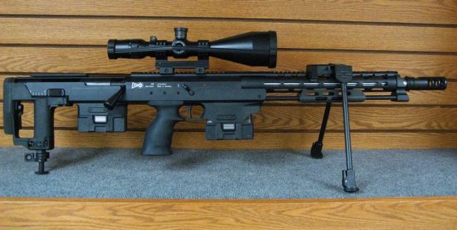 Крупнокалиберная снайперская винтовка DSR-Precision DSR 50