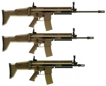 Штурмовая винтовка FN SCAR Mark 16 / Mark 17 - Special Forces Combat Assault Rifle