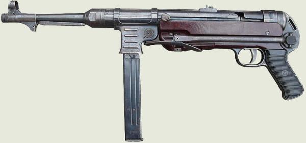 МР-40 - основной пистолет-пулемёт вермахта