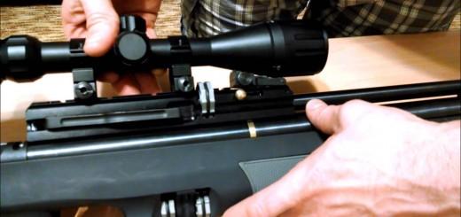 Установка оптического прицела на PCP винтовку Hatsan AT44-10