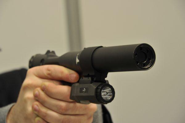 Veterinary Pistol (VP-9)